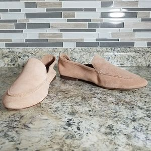 A New Day Loafer 11 Blush Pink Mila Suede Slip On